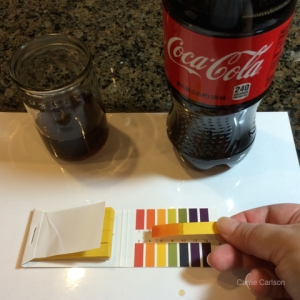 cola pH test