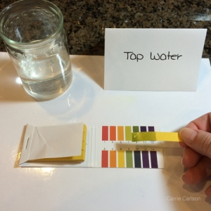 tap water pH test