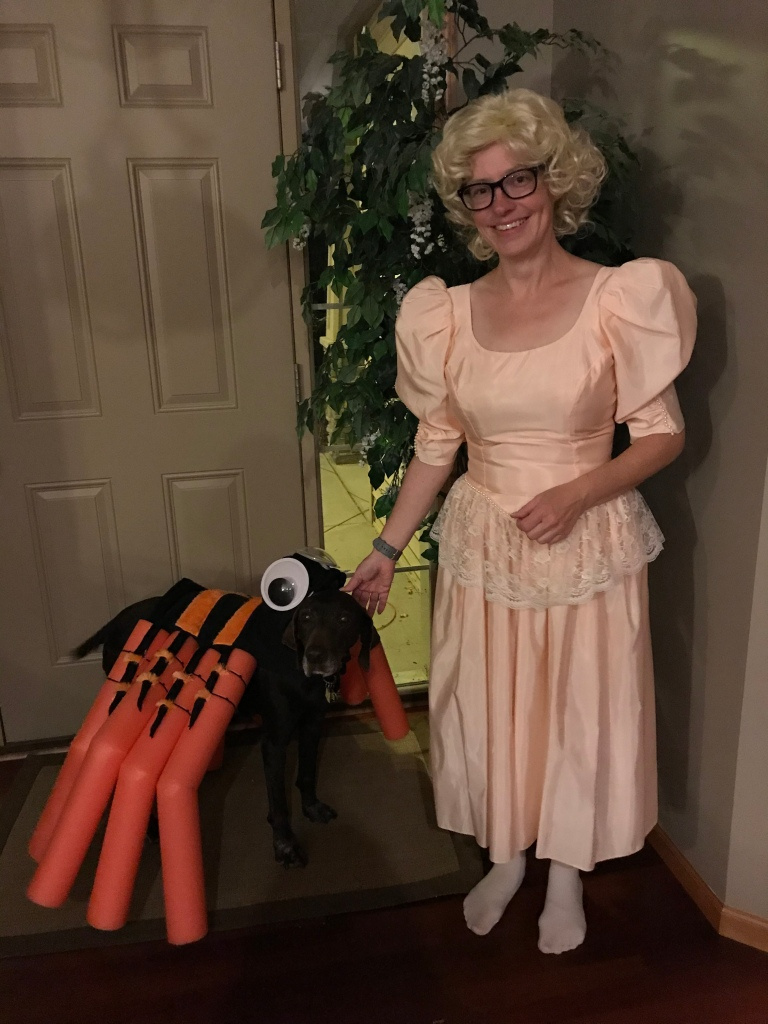 LIttle Miss Muffet and her spooder